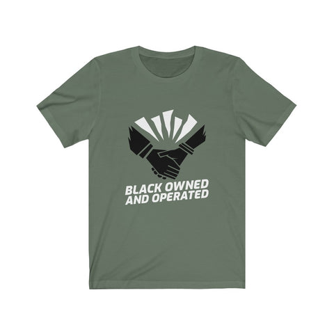 Black Owned & Oprated Short Sleeve Tee