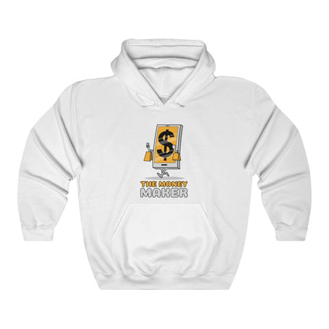 The Money Maker Heavy Hooded Sweatshirt