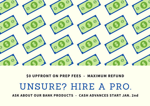 HIRE A TAX PRO (FACEBOOK POST)