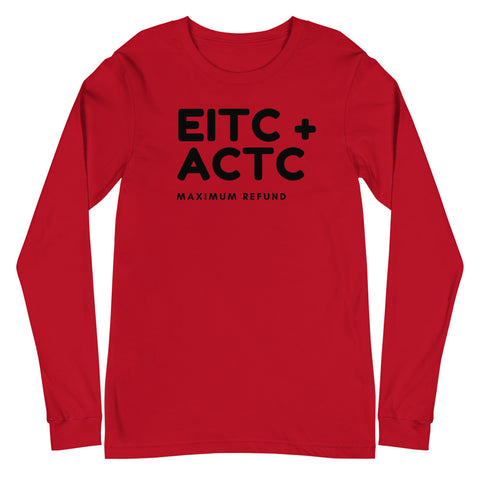 EITC + ACTC (Men's Long Sleeve T-Shirt)