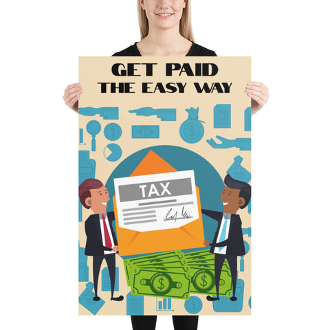 GET PAID THE EASY WAY (EDITABLE)