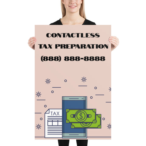 CONTACTLESS TAX PREPARATION (EDITABLE)