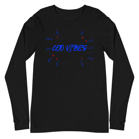 CEO Vibes (Men's Long Sleeve T-Shirt)