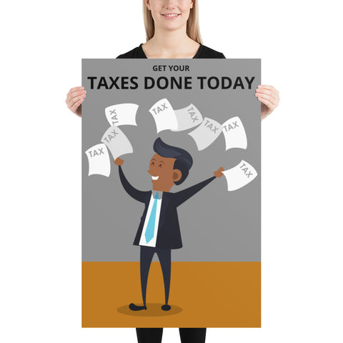 GET YOUR TAXES DONE TODAY (EDITABLE)
