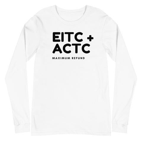 EITC + ACTC (Women's Long Sleeve T-Shirt)
