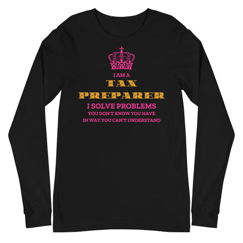 I Solve Problems (Women's Long Sleeve T-Shirt)