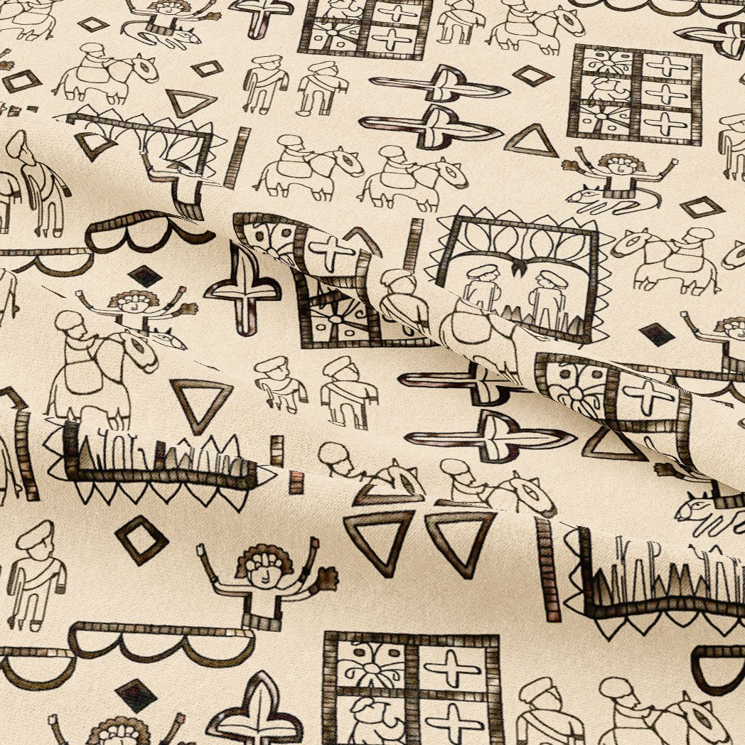 Beautiful Quirky Printed Fabric - Wholesale FAB VOGUE