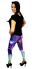 Dreamlike High Waist Galaxy Leggings