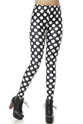 Bardot Polka Dot Leggings