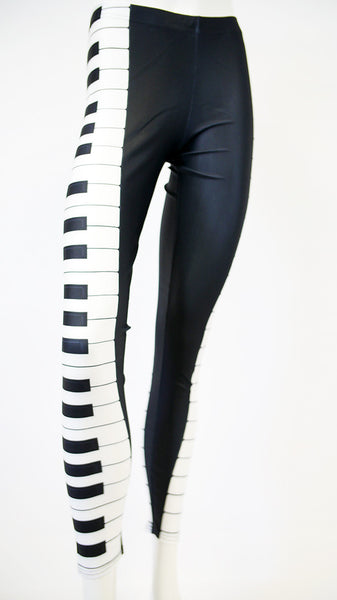 Piano Key Leggings