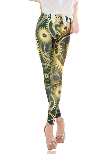 The Sands of Time Leggings