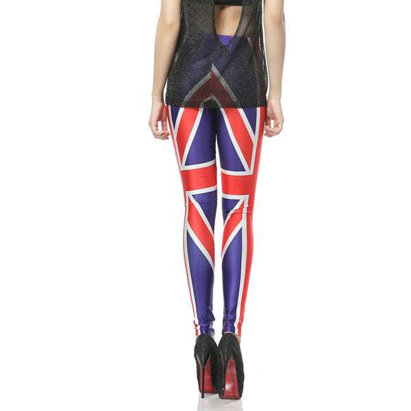 London Calling British Flag Leggings