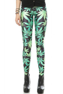 Mary-J Leaf Leggings