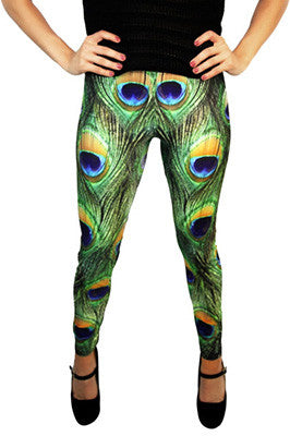 Rock Out with Your Peacock Out Leggings