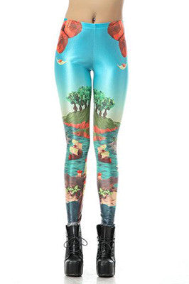 The Plastic Beach Leggings