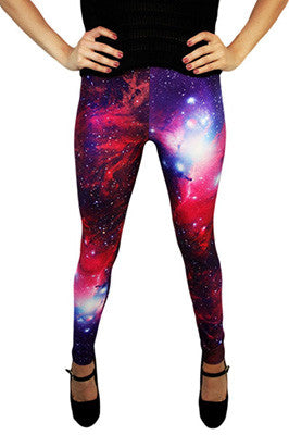 Hubble Purple Leggings
