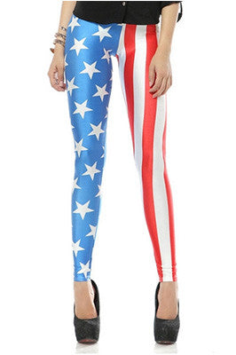 Star Spangled Banner Leggings
