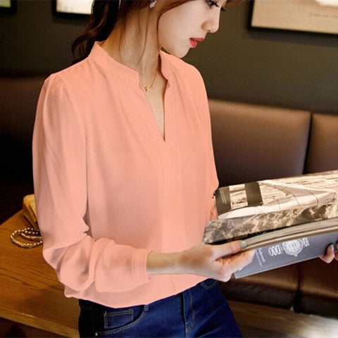Swan Neck Blouse