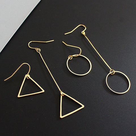 Asymmetrical Edie Earrings