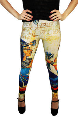 Walk Like An Egyptian Leggings