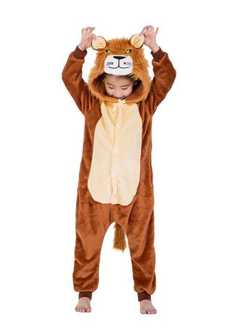 Combinaison Pyjama Lion Enfant | Kigurumi Party