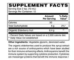 Organic Elderberry Syrup 6400 mg