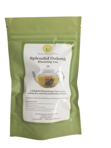 Splendid Oolong Blooming Tea 1 bag  8 balls