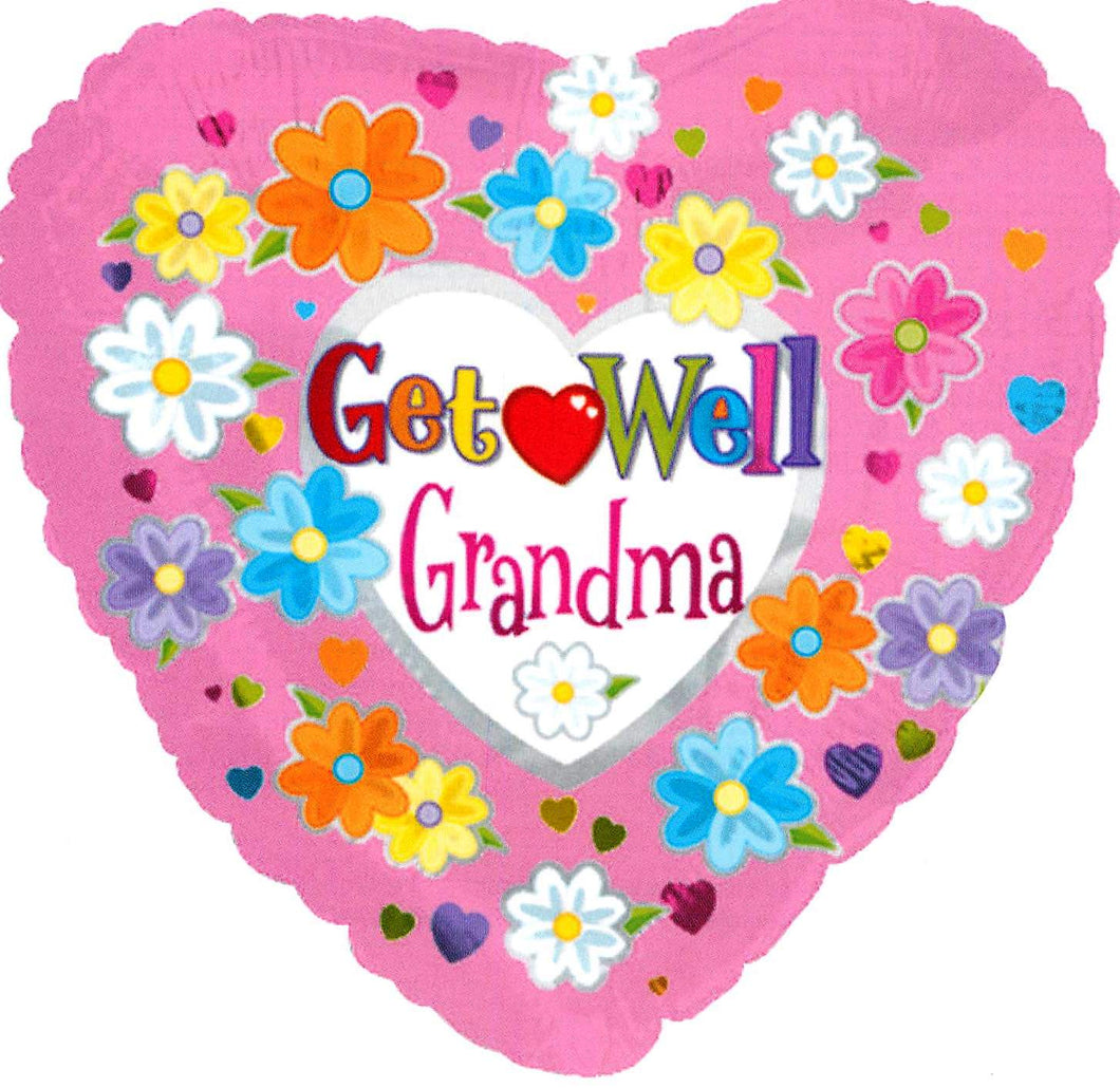 Get Well  Grandma Balloon
