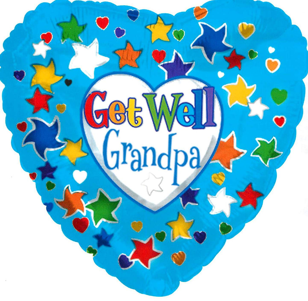 Get Well Grandpa Balloon