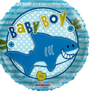 Baby Boy Shark Balloon