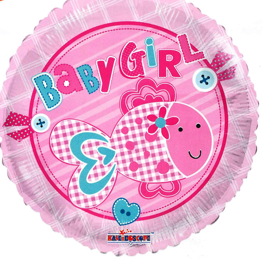 Baby Girl Fish Balloon