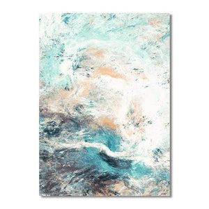 Soft Porium A / 13x8cm Modern Simplicity of Abstract Canvas Paintings Modular Pictures Wall Art Canvas for Living Room Decoration No Framed