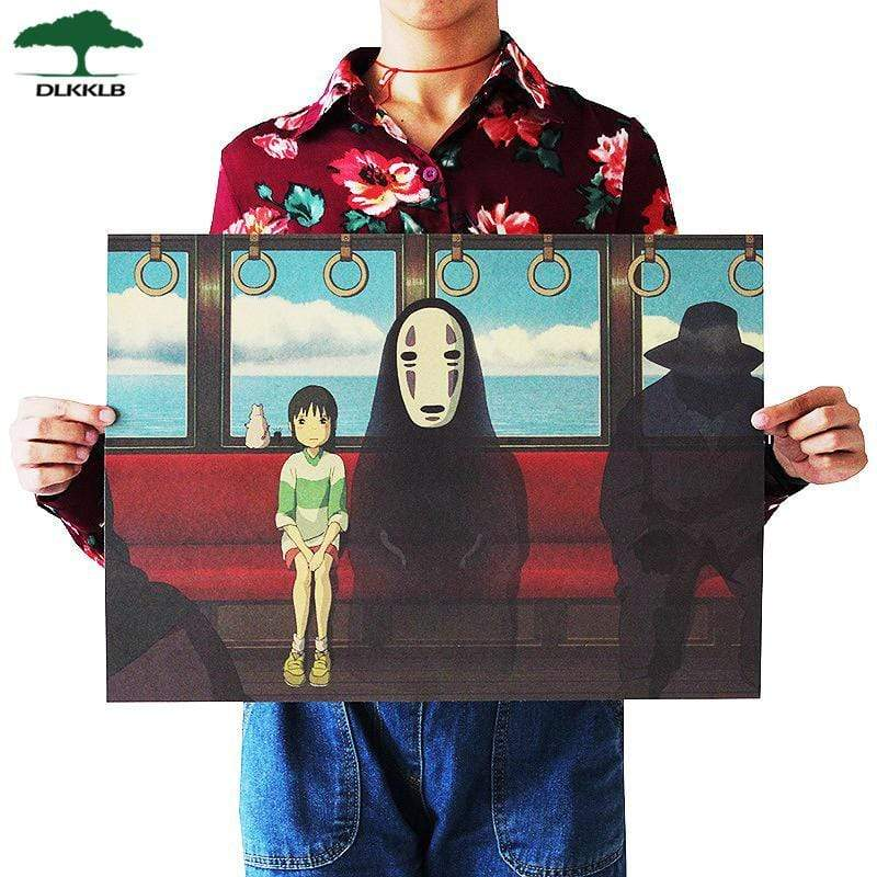 Soft Porium As shown 18 Dlkklb Hayao Miyazaki Anime Movie Poster Set