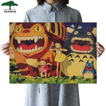 Soft Porium As shown 26 Dlkklb Hayao Miyazaki Anime Movie Poster Set