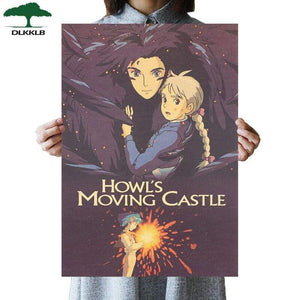 Soft Porium As shown 29 Dlkklb Hayao Miyazaki Anime Movie Poster Set
