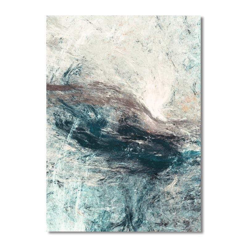 Soft Porium C / 13x8cm Modern Simplicity of Abstract Canvas Paintings Modular Pictures Wall Art Canvas for Living Room Decoration No Framed