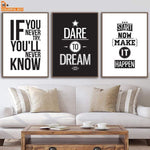 Soft Porium Motivational Inspiring Quotes Wall Art Canvas Painting