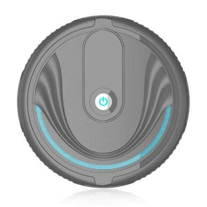 Soft Porium Robot Vacuum Cleaner Black  Battery Smart Robot Vacuum Cleaner