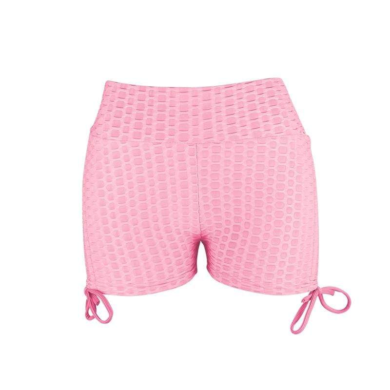 Soft Porium women booty shorts pink / L Women Booty Shorts