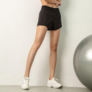Soft Porium women shorts black / S Women Gym shorts
