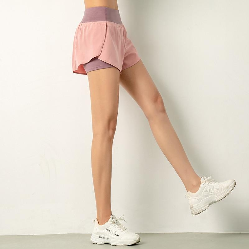 Soft Porium women shorts pink / L Women Gym shorts
