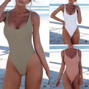 Soft Porium women swimsuit Sexy One Piece Swimsuit
