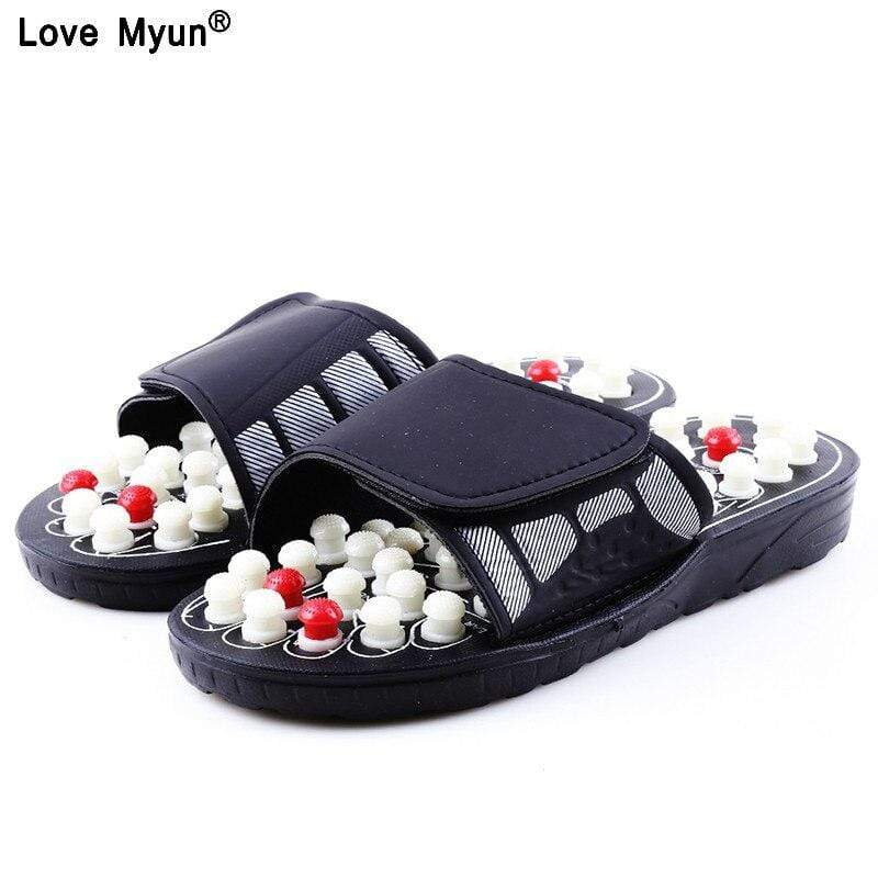 Soft Porium - Your Mega-Superstore For Great Deals as picture / 8 Acupoint Massage Slippers Sandal For Men