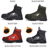 Soft Porium - Your Mega-Superstore For Great Deals JACKSHIBO Winter Men Safety Work Boots Shoes
