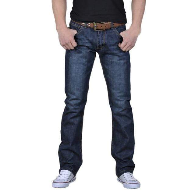 Soft Porium - Your Mega-Superstore For Great Deals mens pants Blue / 38 / United States Men's High Quality Non Ripped Stretch Denim Jeans