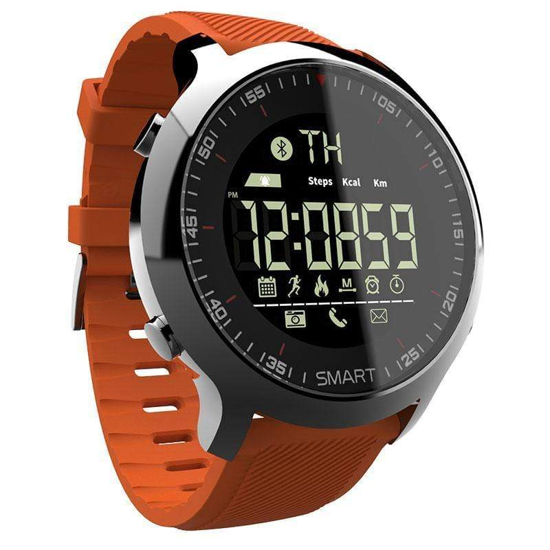 Soft Porium - Your Mega-Superstore For Great Deals Orange Smart Watch Sport Waterproof pedometers