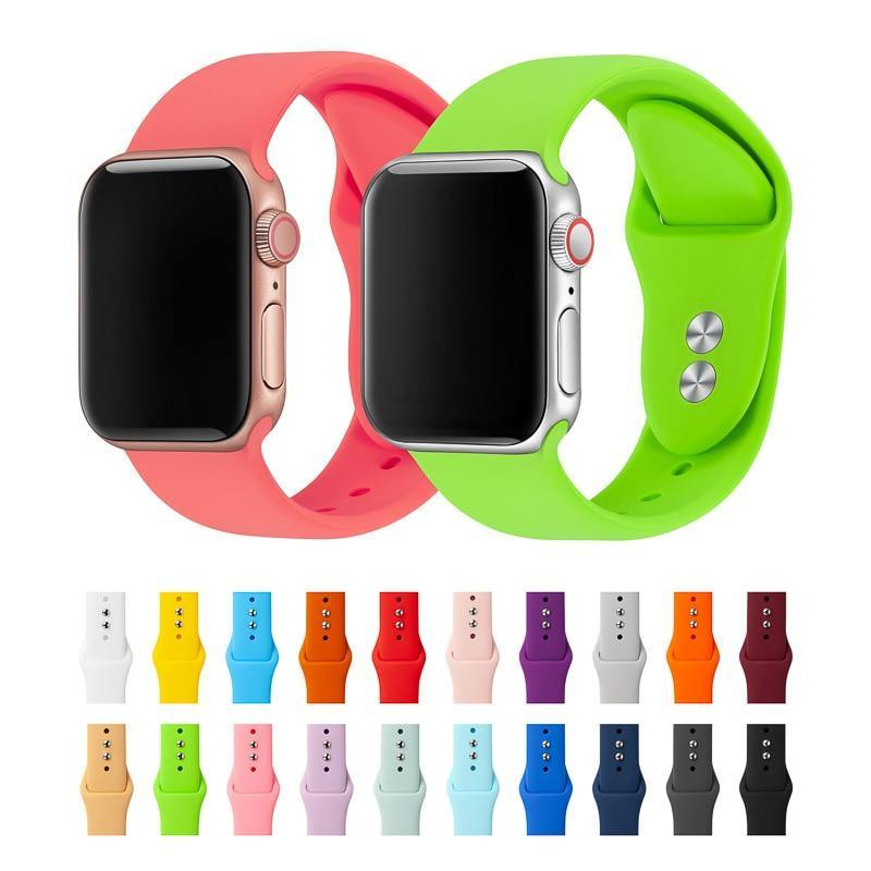 Soft Porium - Your Mega-Superstore For Great Deals Silicone Bracelet For Apple Watch