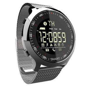 Soft Porium - Your Mega-Superstore For Great Deals Silver Smart Watch Sport Waterproof pedometers