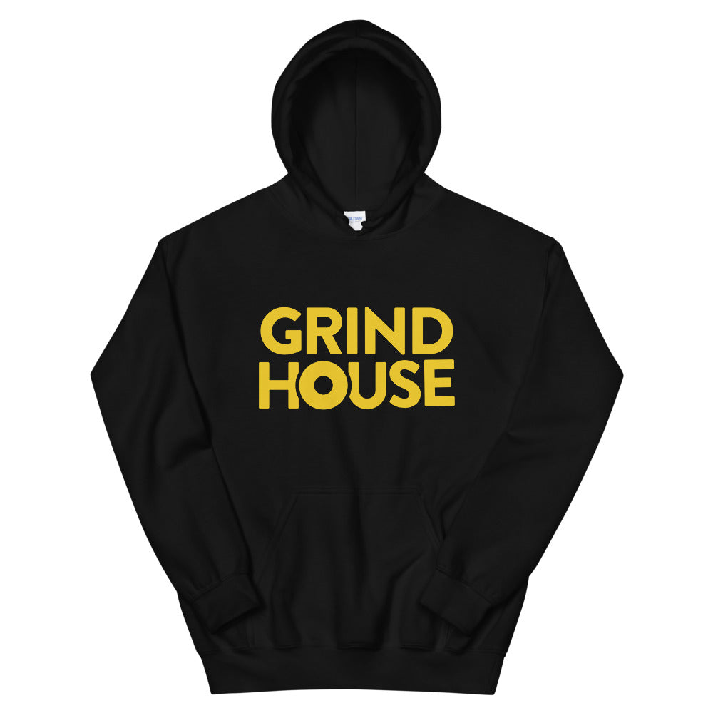Grind House Logo Hoodie (Yellow)