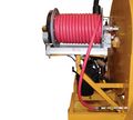 100' Electric Hose Reel Option